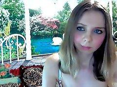 Blonde, Webcam, Babe, Masturbation