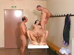Double Penetration, French, Gangbang, MILF