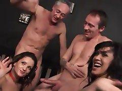 Facial, Sexo en Grupo