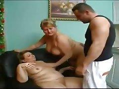 BBW, Granny, Threesome