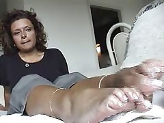 Amateur, Foot Fetish, Masturbation, POV