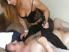 BDSM, Blonde, Femdom, Stockings
