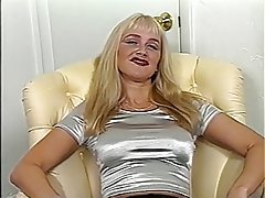 MILF, Big Boobs, Blonde, Masturbation