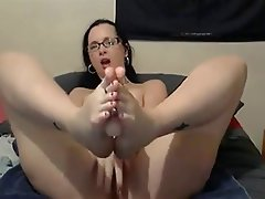 Foot Fetish, MILF, Webcam