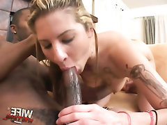 Ebony, Blowjob, Cumshot, Fetish