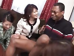Interracial, Japanese, MILF