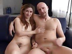 German, Hairy, Hardcore, Threesome