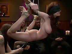 BDSM, Black, Redhead
