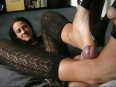 Amateur, German, Foot Fetish, MILF