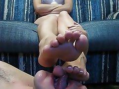 Amatoriale, Bionde, Donna dominante, Feticismo del piede