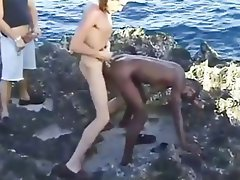 Amateur, Babe, Interracial, Outdoor