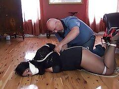 BDSM, Knechtschaft, Reifen, Strumpfhose