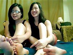 Amateur, Asian, Foot Fetish, POV