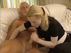 Blondine, Blowjob