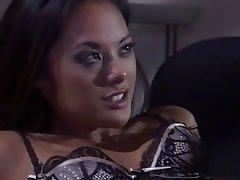 Brunette, Babe, Blowjob, Pornstar