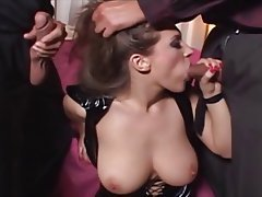 Big Boobs, Double Penetration, Facial