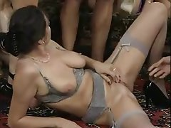 German, Group Sex, Hairy, Swinger