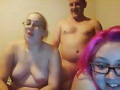 Amateur, Blowjob, Threesome