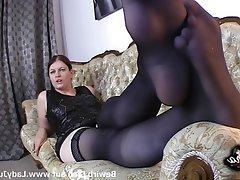 BDSM, Femdom, Foot Fetish, German