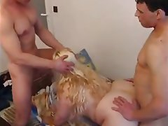 Amateur, BBW, Threesome