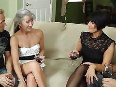 Amateur, Group Sex, Hardcore, MILF