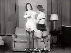 Brunette, Lingerie, MILF, Stockings